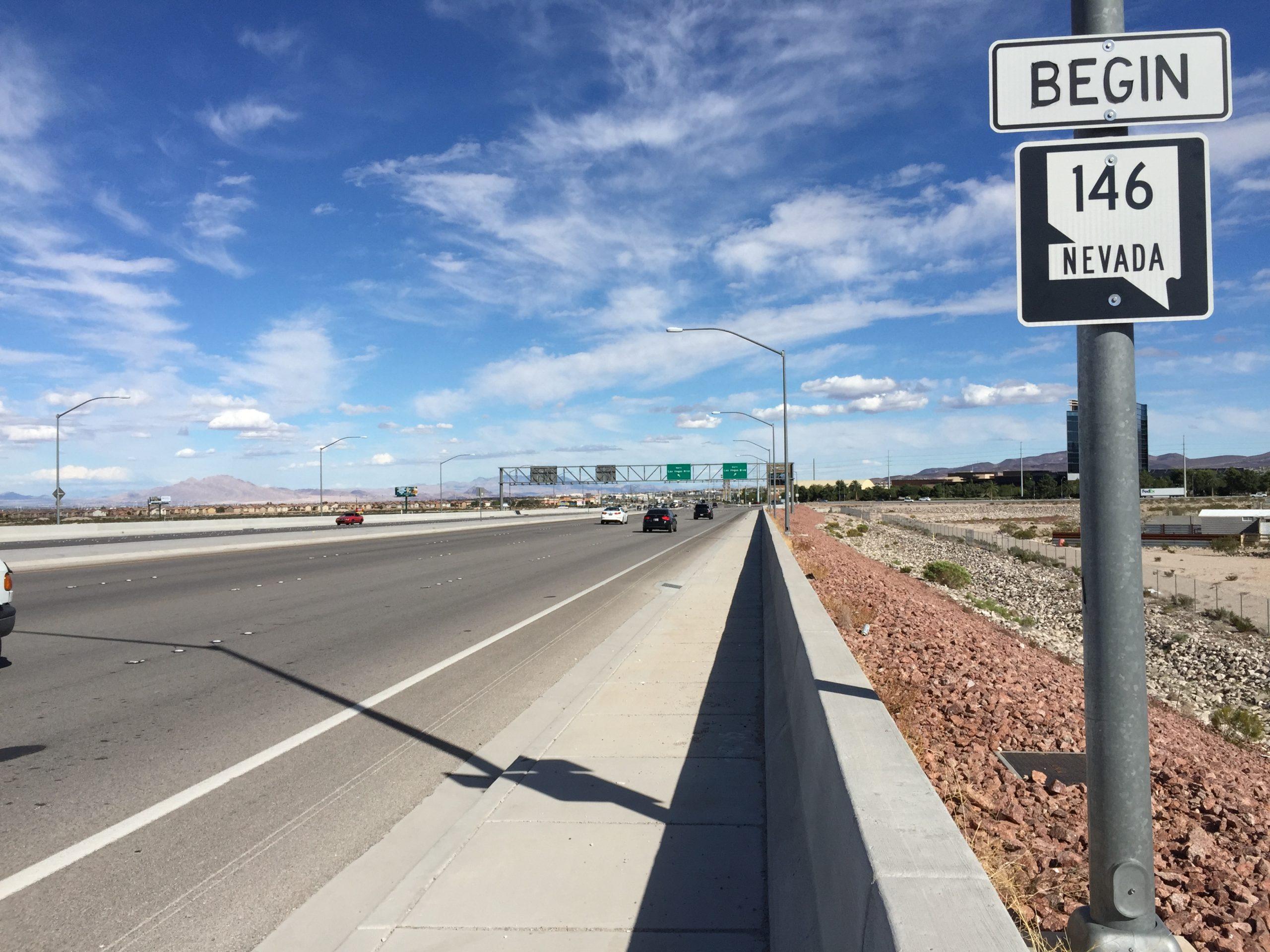 Nevada Condition Route 146