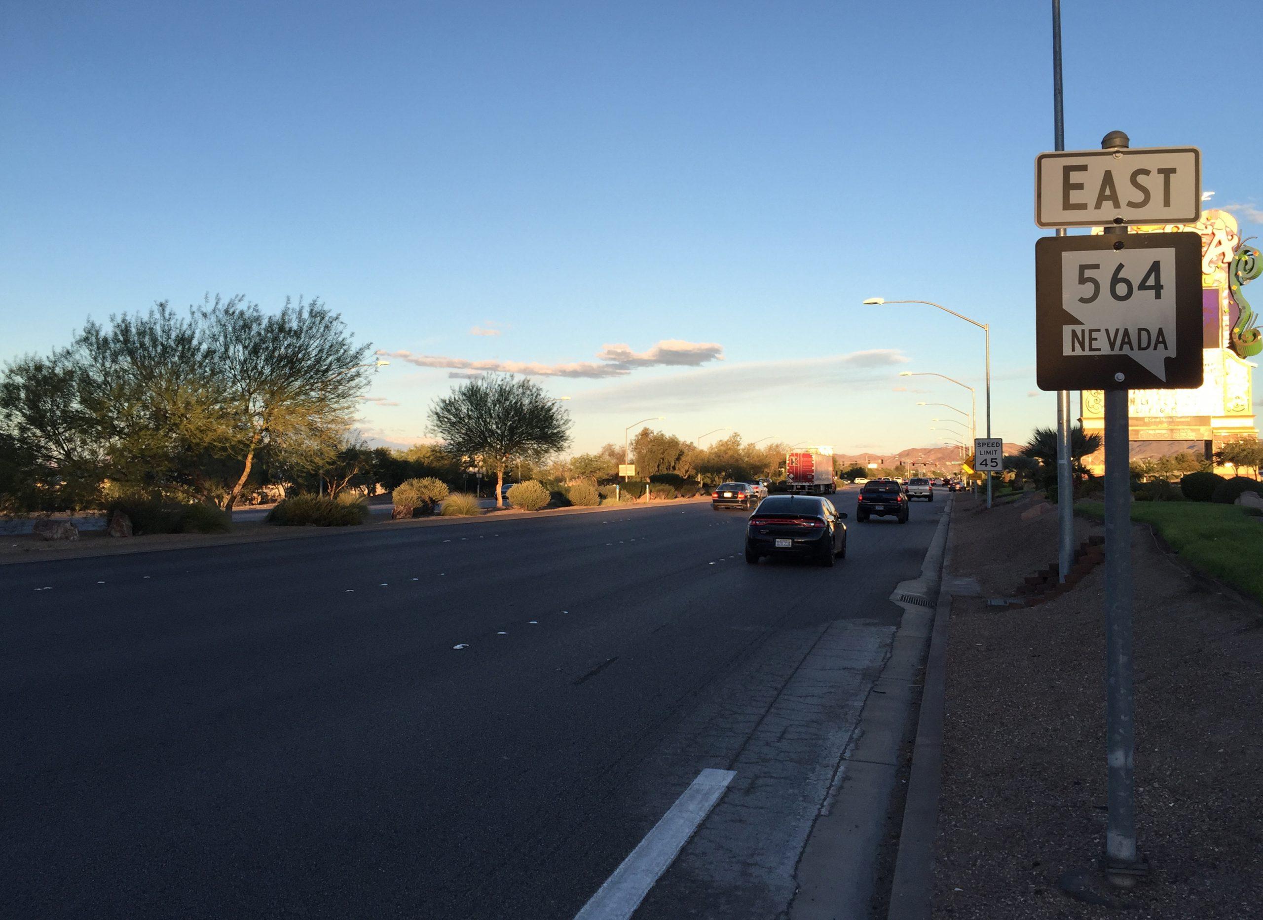 Nevada Condition Route 564