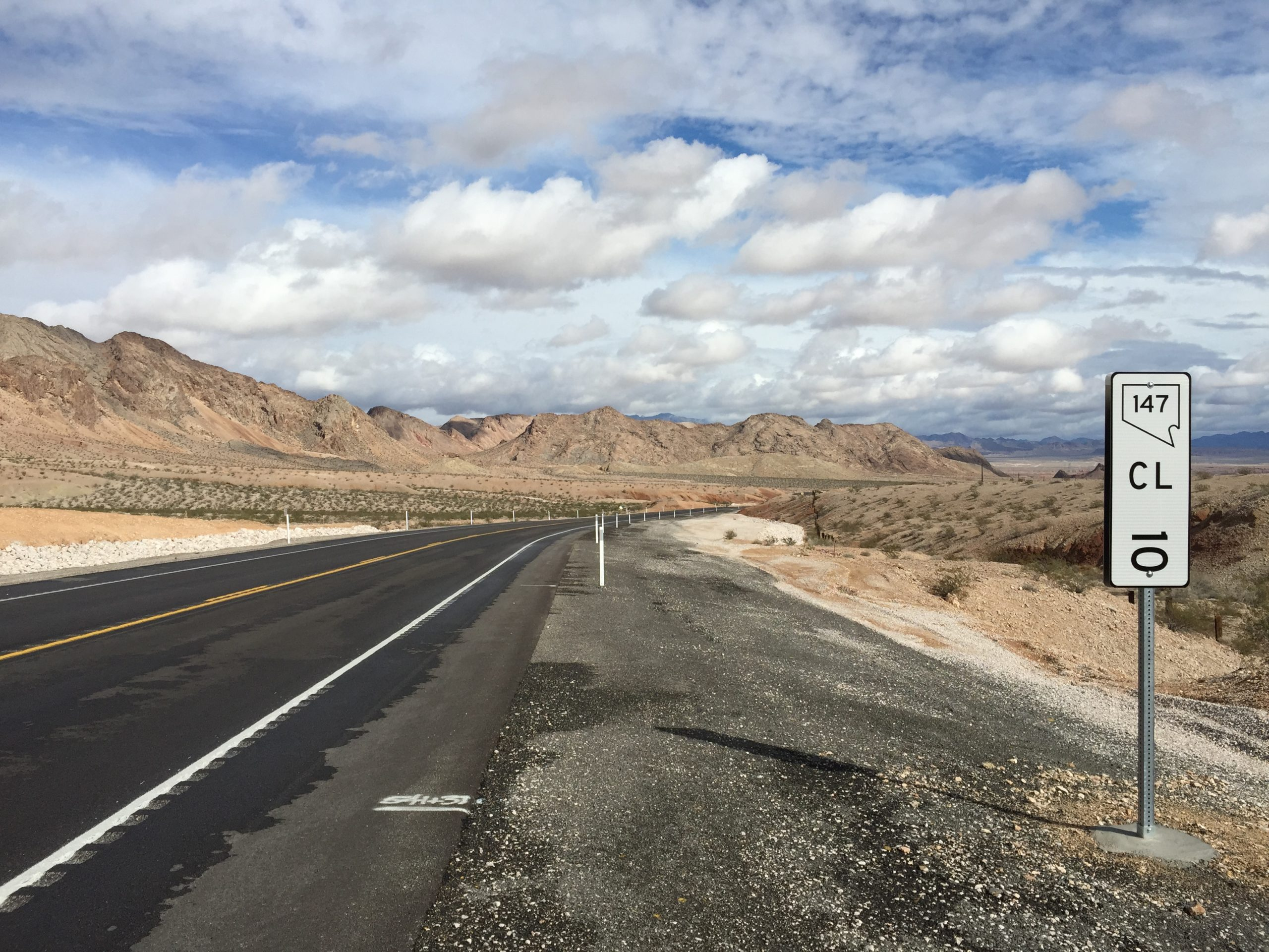 Nevada Condition Route 147